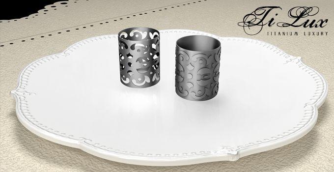 Linea TiLux – TITANIUM LUXURY { Gothic } - Gioielli in Titanio Puro - Made in Italy. Linea di gioielli e' ispirata allo stile gotico ''cortese'. www.titaniumluxury.it ...for your love, for your #wedding, for your emotions!