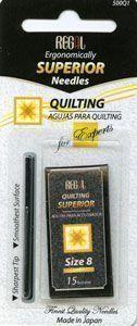Regal superior Quilting needles