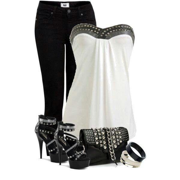 Cute rocker style