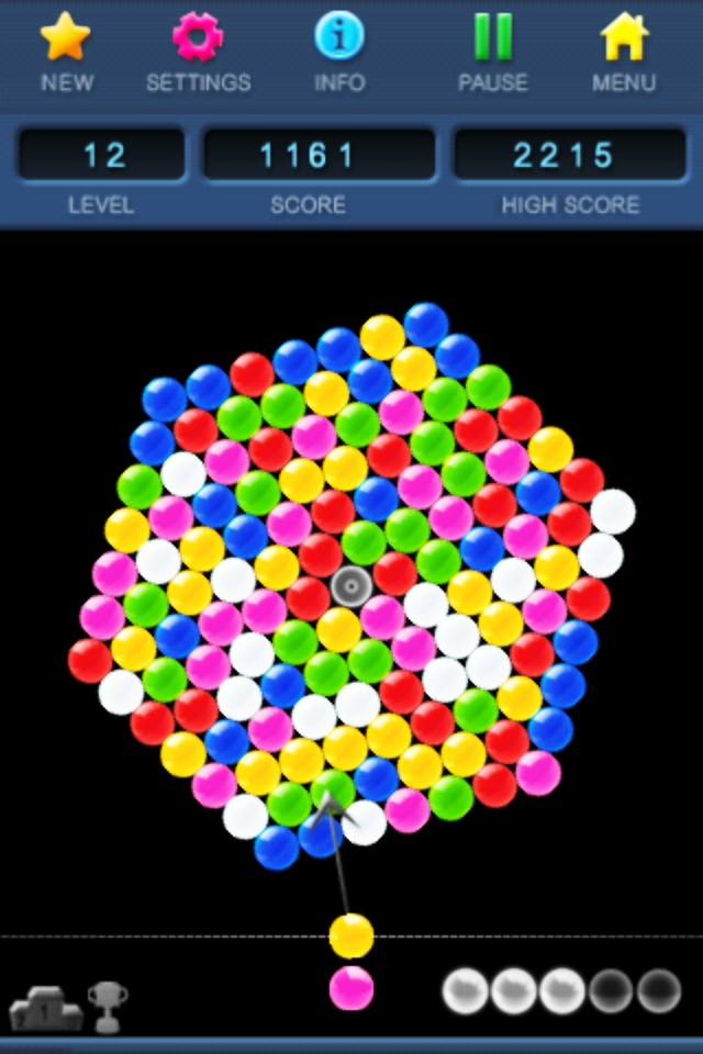 Try harder . . . (bubble shooter free)