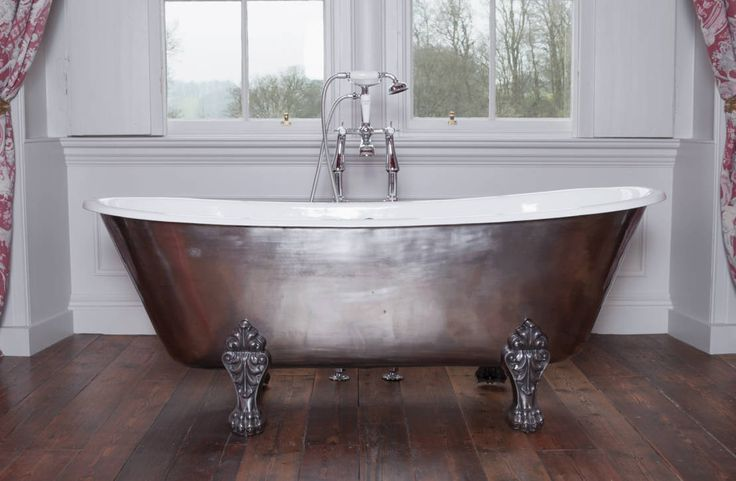 """Once again one of our baths has been featured on the on-line platform Homify. By Beth Cochrane, the piece explores the versatility and design aspects of """"seven intricate iron pieces""""."""