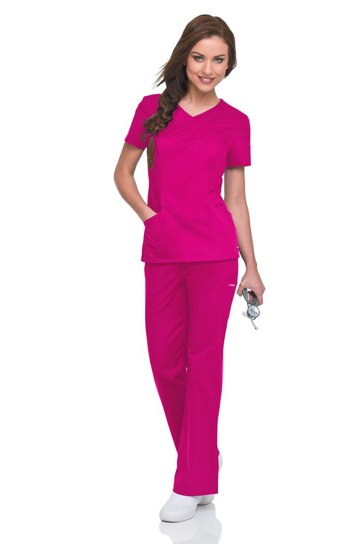 Our Smart Stretch collections looks great paired with any of our Berry Bliss prints, especially Primrose! #landau #medical #healthcare #uniforms #nurse #nursing #rn #dental #health #vet #tech #lpn #lvn #hospital #scrubs #fashion #berry #bliss #february #pink #red #valentine