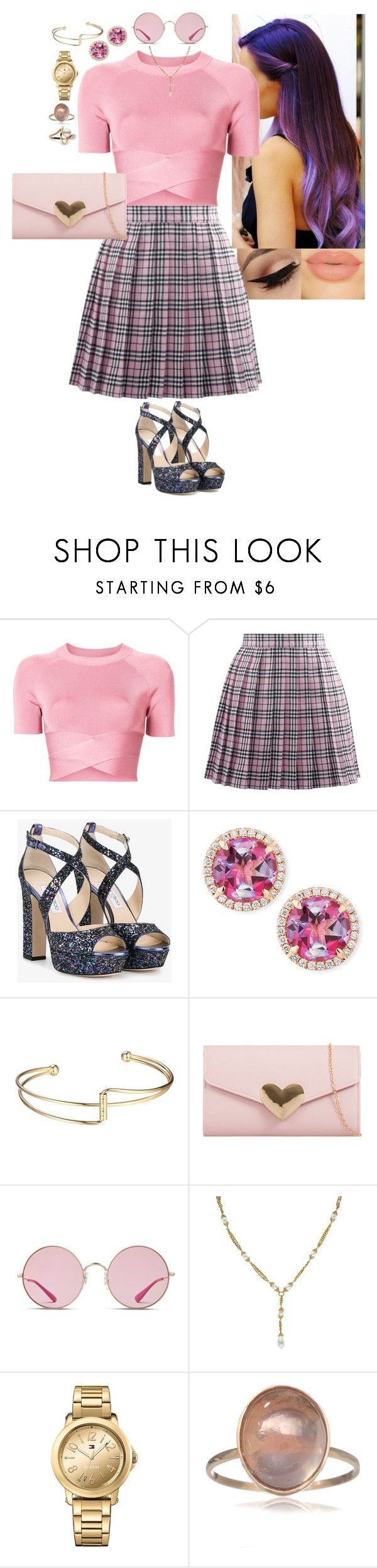 """""""Clueless"""" by stinze on Polyvore featuring T By Alexander Wang, Jimmy Choo, Frederic Sage, Ray-Ban, Chanel and Tommy Hilfiger"""
