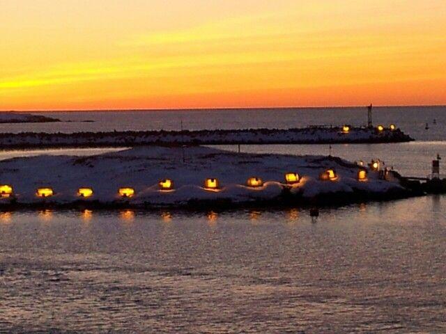 port aux basques sunrise