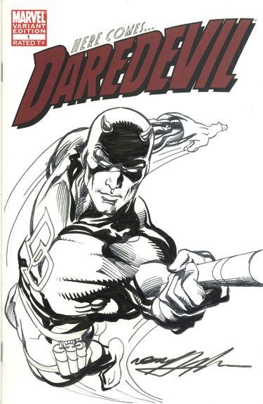 Neal Adams DareDevil Comic Art