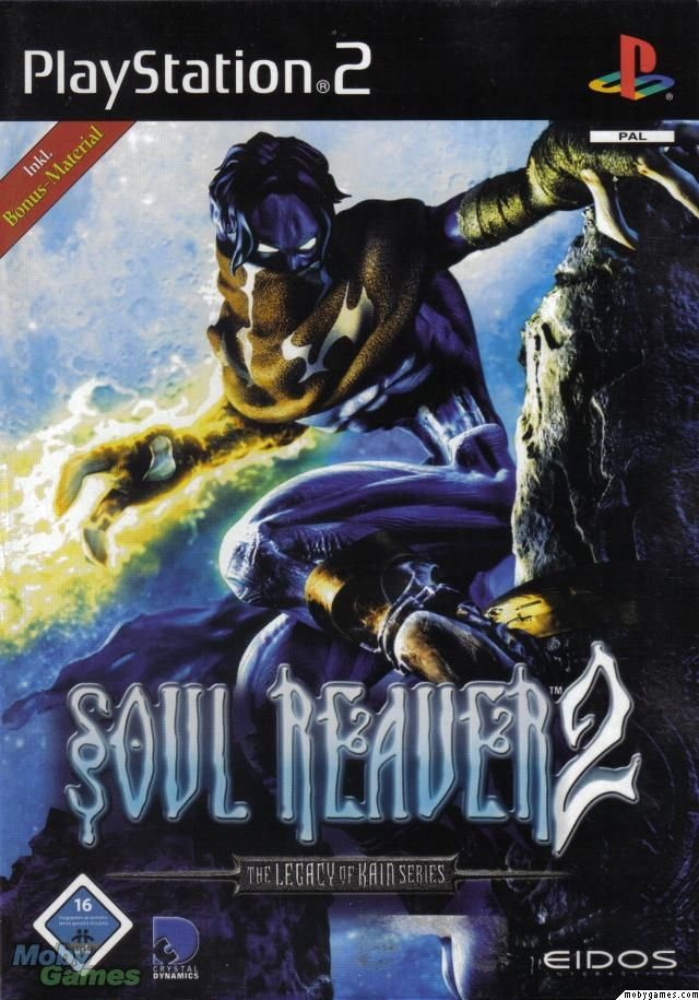 Legacy of Kain: Soul Reaver 2-This one made me buy the PS2