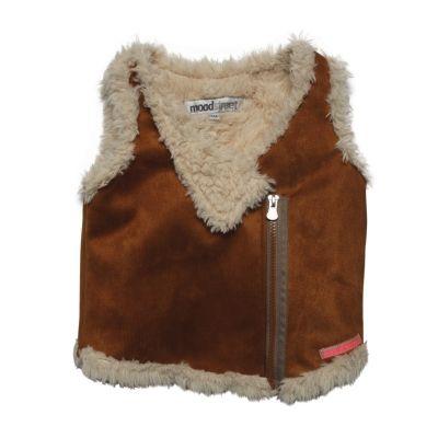 Moodstreet gilet | Wintercollectie 2015 | www.kleertjes.com #kinderkleding #babykleding #kids #fashion #fake #fur #trends #nepbont #imitatiebont