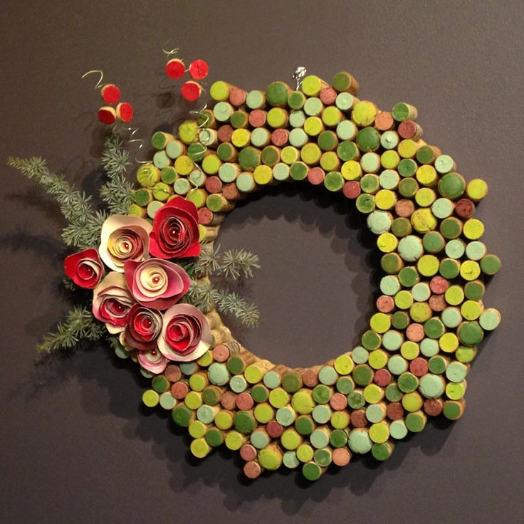 This wreath submission comes to us from