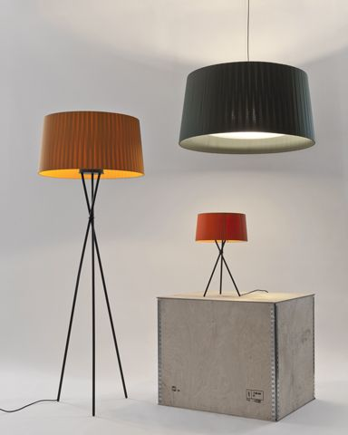 Tripode Floor, table or Pendant by Santa & Cole.