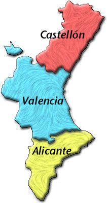 mapa comunidad valenciana - Google Search: Mapas España, Mapa Comunidad, Valencian Community, Maps, Google Search, Community, Bolsaspain, Castellón Valencia Alicante, Map Of