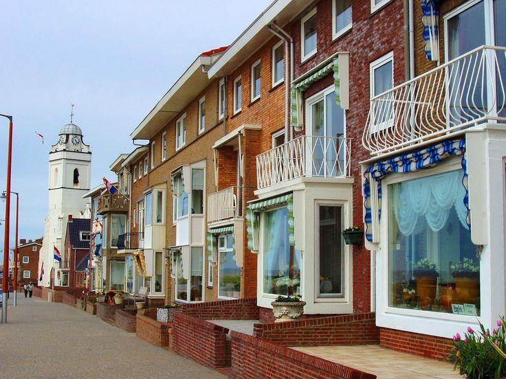 Katwijk-ulica/ Street in Katwijk
