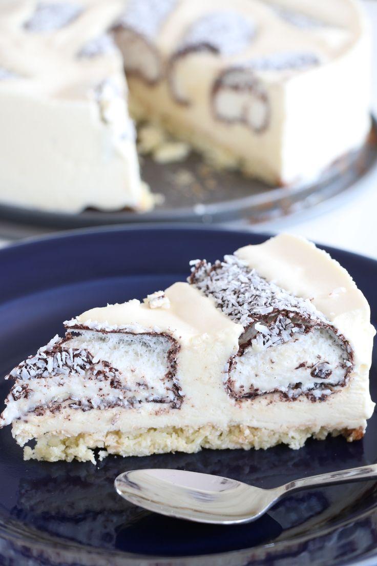 Glasstårta med skumraket