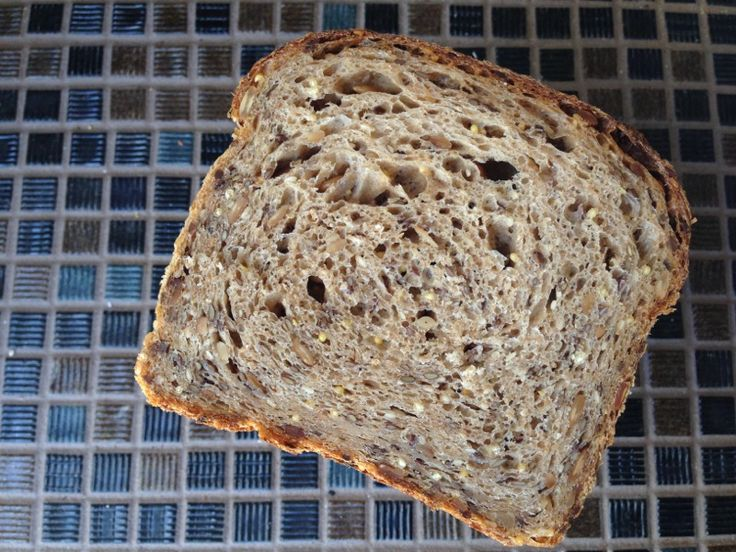 Millet, Sunflower, Flax, Amaranth and Sesame Naturally Leavened Sandwich Bread. ~ from the blog a Breaducation