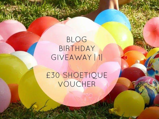 Blog Birthday Giveaway | Win £30 Shoetique Voucher | ialwaysbelievedinfutures.com