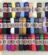 Muslim hijab fashion cotton hijab Muslim turban scarves female rivet cotton longer section C14 – Fashion Lifestyle Product and Brand