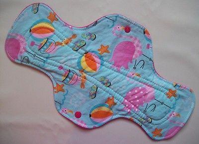 Beach Flamingoes Punkys Pads Cloth Menstrual Pad Heavy Overnight | eBay