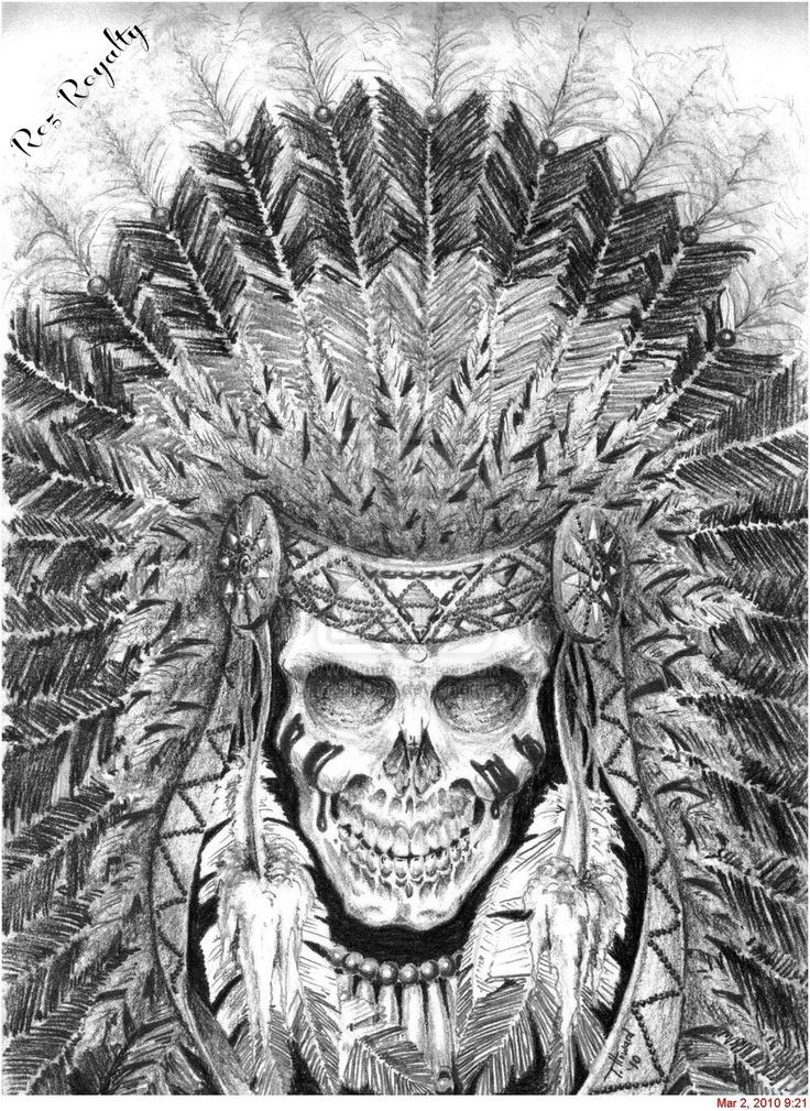 Headdress Skull
