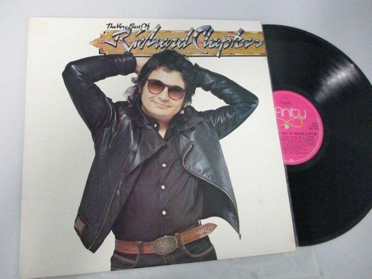 The Very Best Of RICHARD CLAPTON Greatest Hits 1981 OZ LP Infinity 16 Tracks N/M #PopRock1970s