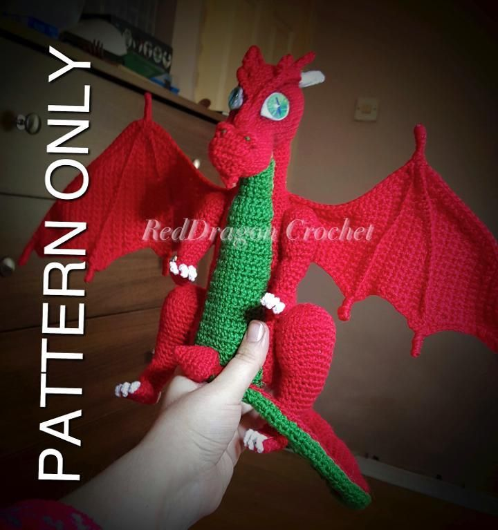 567 best here come the dragons images on Pinterest | Amigurumi ...
