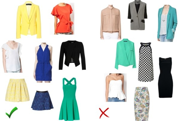 If you have a rectangle body shape see here what you should and shouldn't wear!    http://secondskinstyling.blogspot.pt/    http://www.facebook.com/secondskinstyling