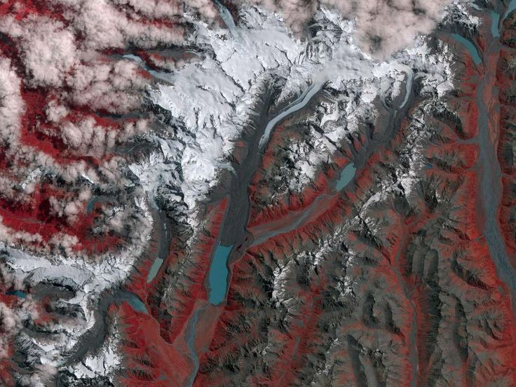 After: Shrinking glaciers in New ZealandDate: January 29, 2017Source: NASA Photo: NASA