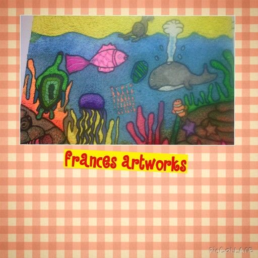 Under The Sea - Paper Clay Art