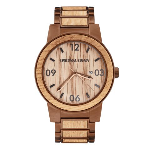 Original Grain Watch made from reclaimed Kentucky Bourbon oak  barrels.
