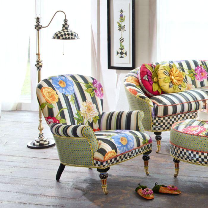 Garden-Accent-Chair coming soon to ZAZOU! ZAZOUFLORIDA.COM – MacKenzie-Childs Furniture