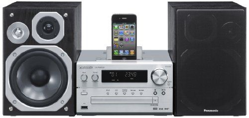 Panasonic SC-PMX5DBEBS 120W DAB Micro System with iPhone/iPod Dock - http://digitalentertainment7.co.uk/hifi-system/panasonic-sc-pmx5dbebs-120w-dab-micro-system-with-iphoneipod-dock-2/