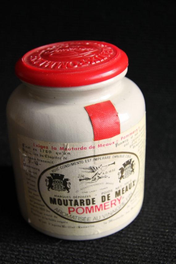 Moutarde De Meaux by hipposdream on Etsy