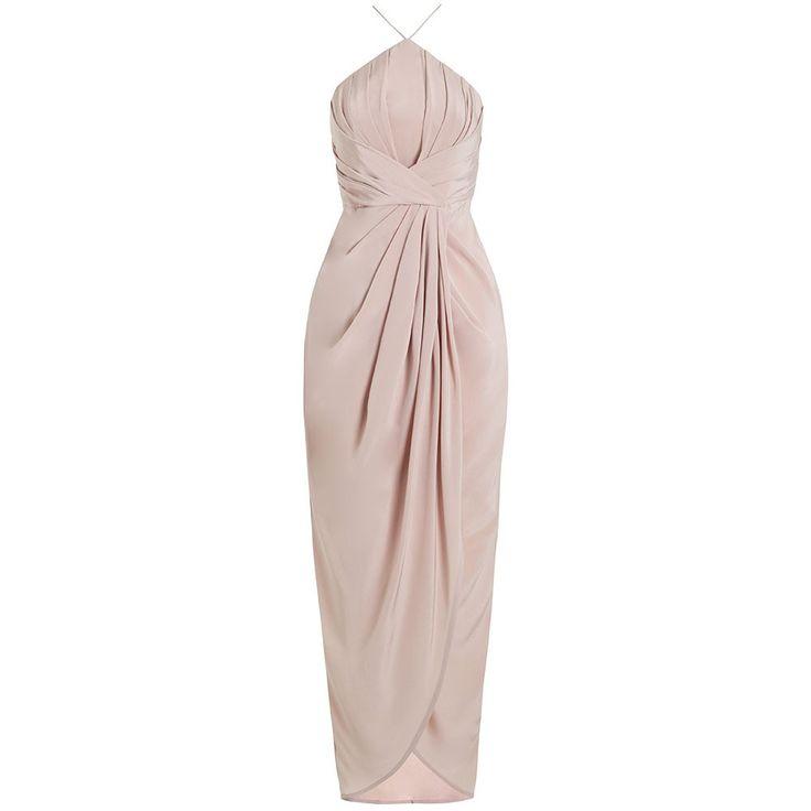 Silk v long dress zimmermann resort
