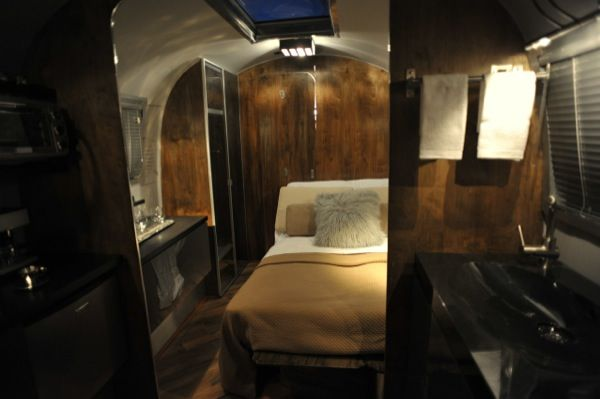 This is a renovated 1967 Overlander Airstream camper designed by Architect Series. It's been completely overhauled and redesigned from top to bottom! Bill Sheppard, the designer, says, &#8220…