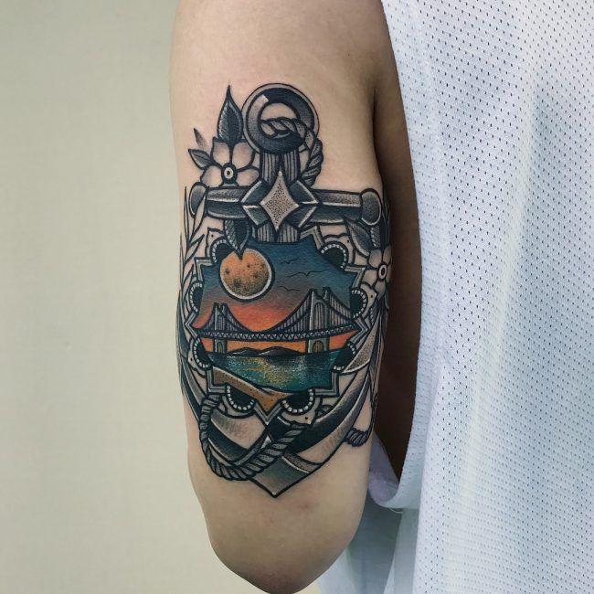 Disenos Y Significados De Tatuajes De Anclas Marinas Amor Por El