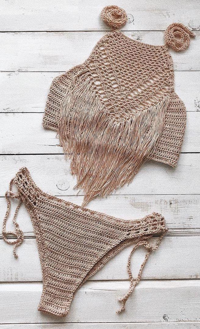 Crochet bikini patterns free