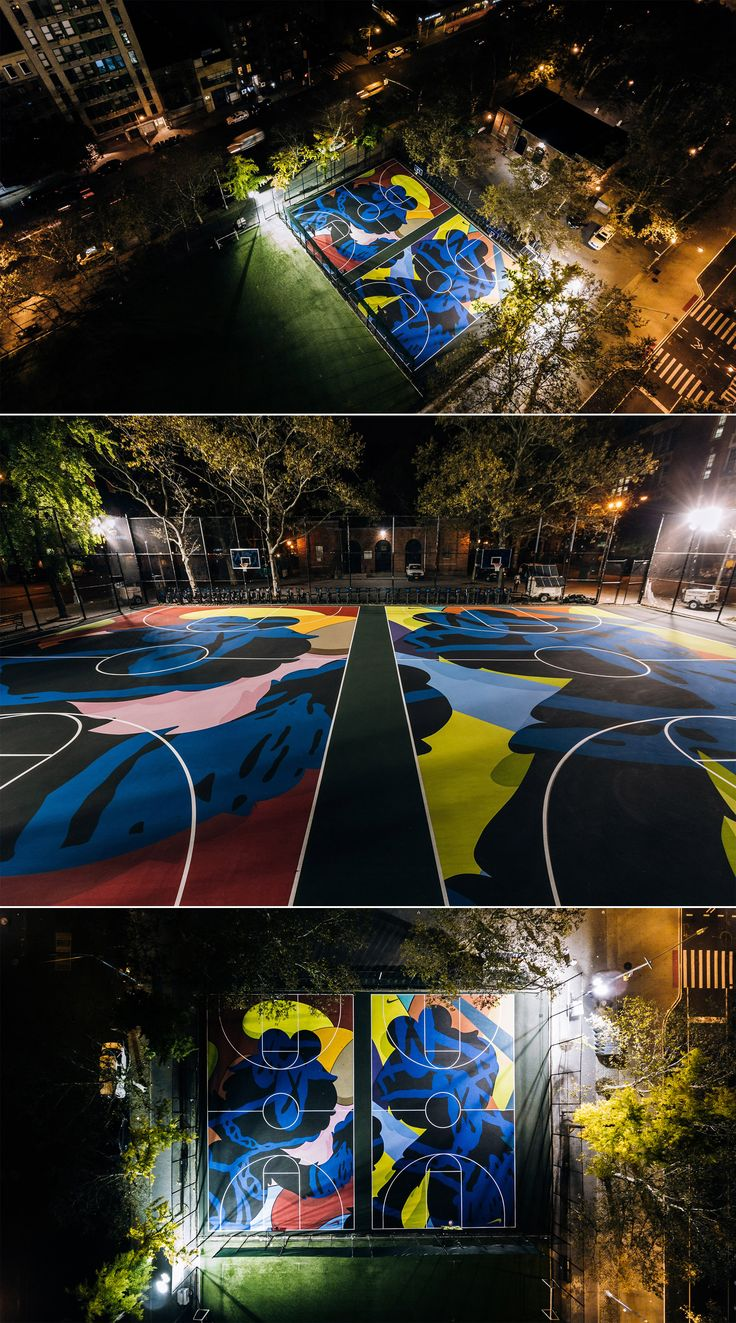 Stanton Street Basketball Courts [Brian Donnelly, Brooklyn NY].
