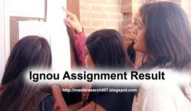 Ignou assignment result 2017  - The  students who have submitted the solved assignments before the June 2017 term end examination will be...