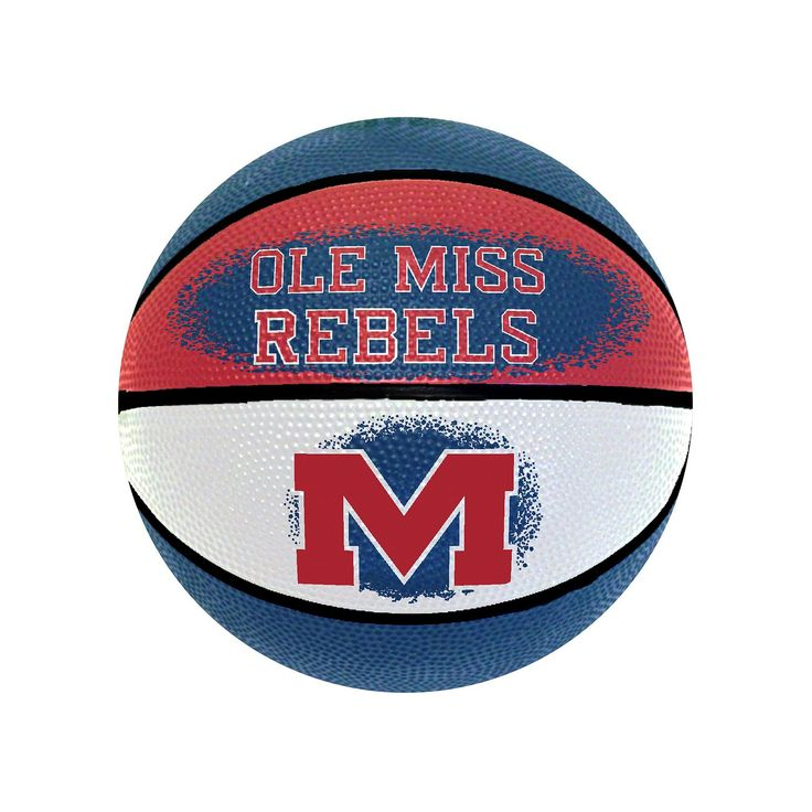 Ole Miss Rebels Mini Basketball, Multicolor