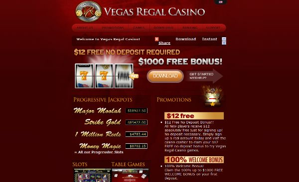 Cash Back for VIPs each and every week - Vegas Regal Casino >> jackpotcity.co/i/172.aspx