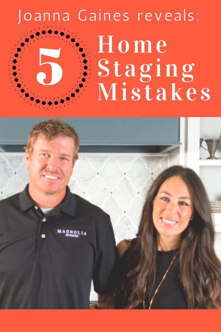 One of the keys to a successful home sale, says Joanna Gaines, is home staging. Here, Jo reveals the top five home-staging mistakes she's seen, so you'll know to avoid them when selling your home.