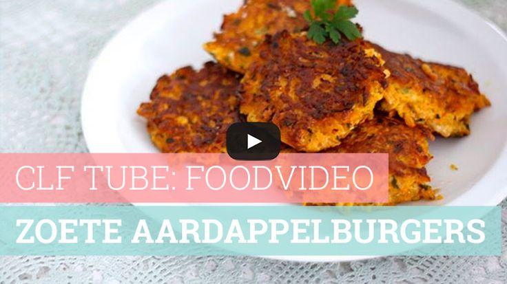 Foodvideo: zoete aardappelburgers