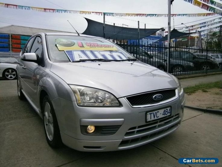 2005 Ford Focus LS LX Silver Automatic 4sp A Hatchback #ford #focus #forsale #australia