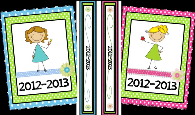 Printable binder covers, inserts, calendars....these are SO cute!!!: Binder Covers Repin, Printable Binder Covers, Binder Labels, Classroom Freebies, Teacher Organization, Binder Printables, Rooms