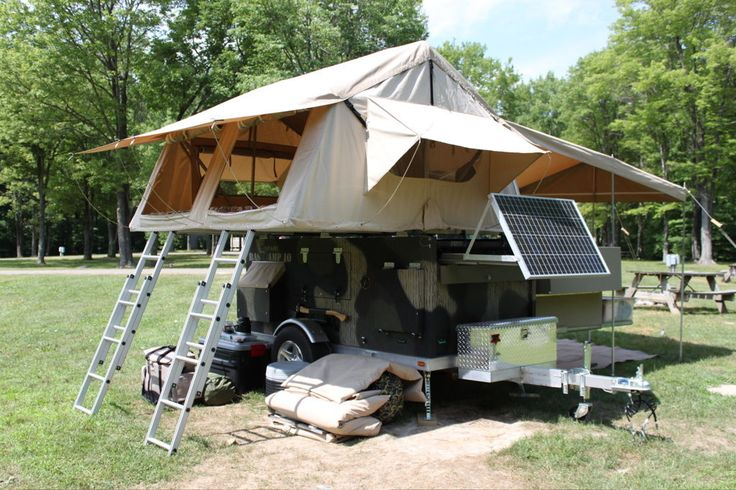 Custom Bug Out Trailers : Home built camper trailer bug out trailers pinterest