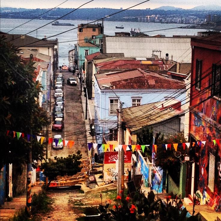 Cerro concepción, Valparaíso