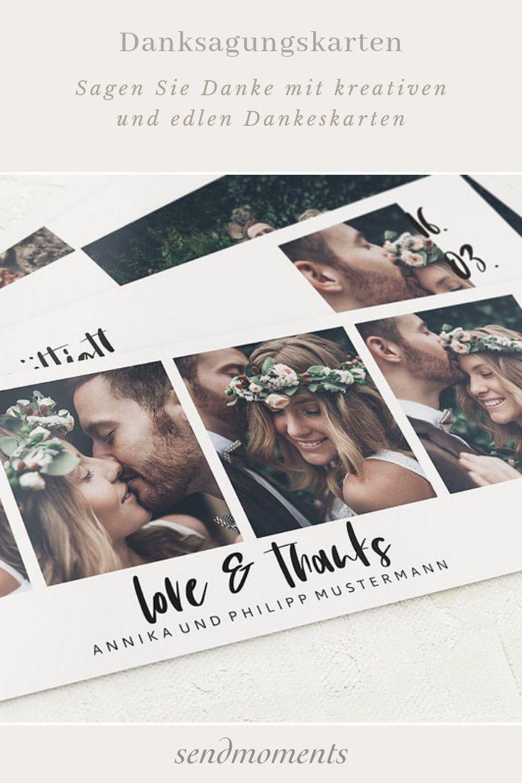 Dankeskarten Hochzeit Neue Designs