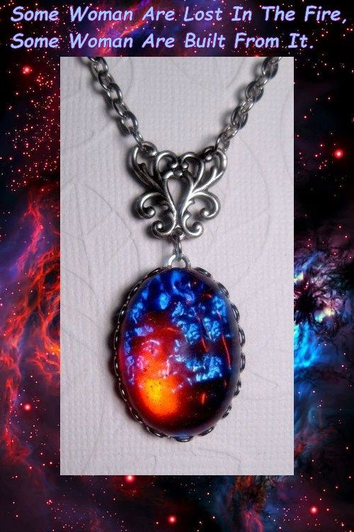 Fire Opal Necklace  Dragons Breath Fire by FashionCrashJewelry