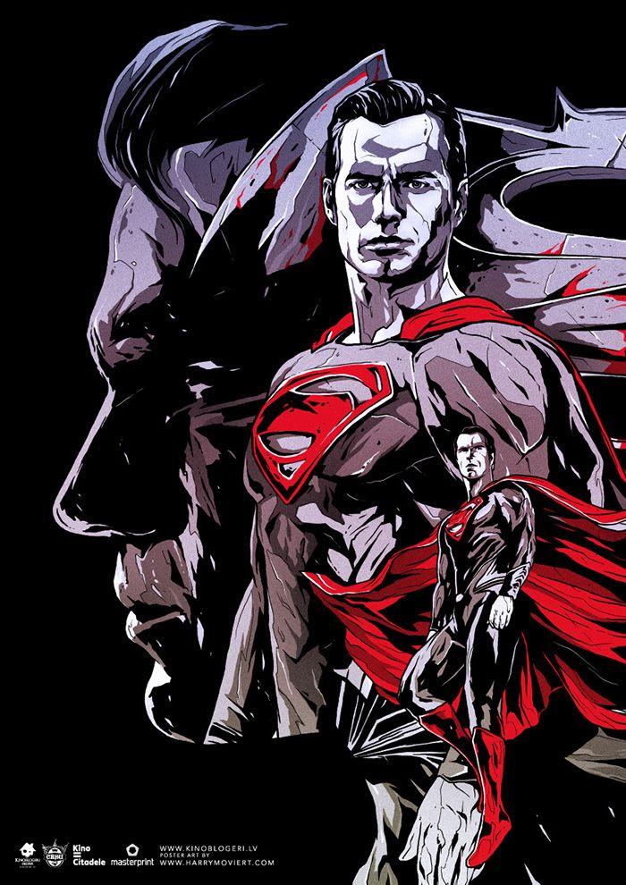 Batman v Superman: Dawn of Justice by Harijs Grundmanis