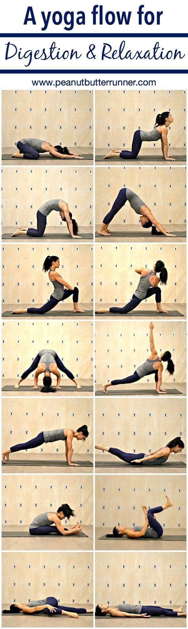 Yoga Flow for Digestive Health & Relaxation | Peanut Butter Runner | Bloglovin'