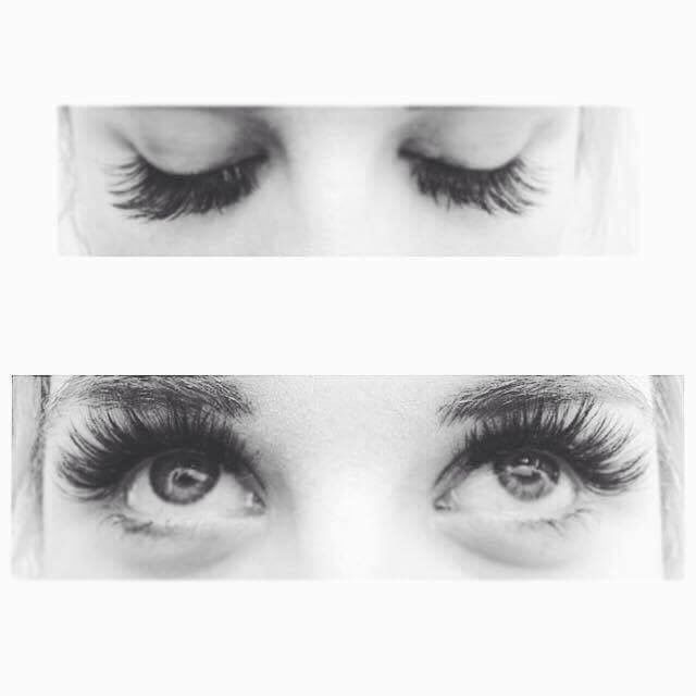Celeste our beauty therapist did some amazing lashes what a difference they make. Come in and treat yourself.