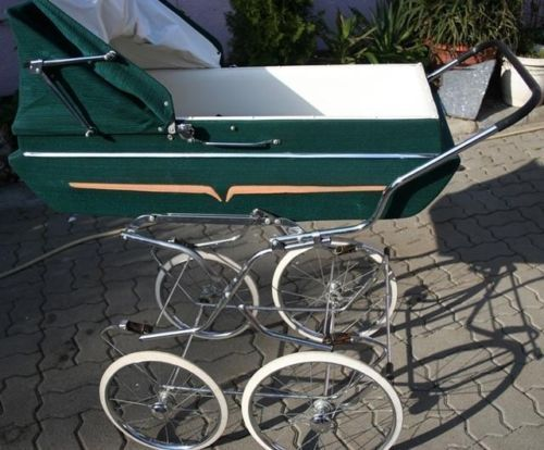 Retro nostalgie starožitný kočík 60. gondola auto-príliš-for Reborn Babies